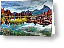 Belluno Mountains Greeting Card