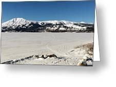 Bennett Lake At Carcross Yukon Greeting Card