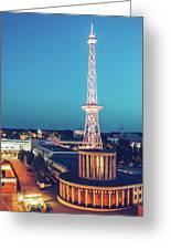 Berlin - Funkturm Greeting Card