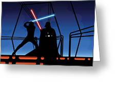Bespin Duel Greeting Card