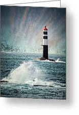 Beyond The Northern Waves Greeting Card