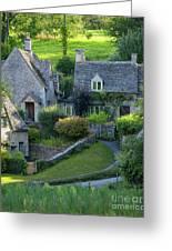 Bibury Cottages Greeting Card