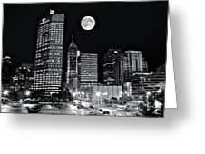 Big Moon Indianapolis 2019 Greeting Card