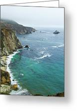 Big Sur Ocean Views Greeting Card