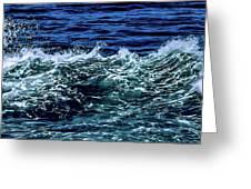 Big Surf Pano Greeting Card