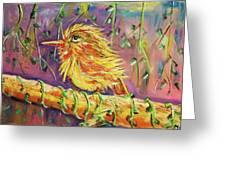 Bird In Nature Greeting Card