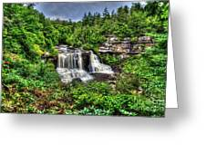 Blackwater Falls, Blackwater Falls State Park, West Virginia Greeting Card