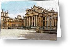 Blenheim Palace Number 2 Greeting Card by Joe Winkler