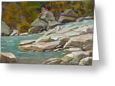 Blindman River, Blackfalds Greeting Card