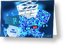 Blue Screen Entertainment Greeting Card
