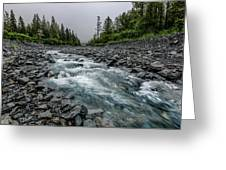 Blue Water Creek Greeting Card