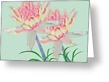 Blush Of Pink Greeting Card