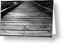 Boardwalk  Greeting Card by Doug Camara