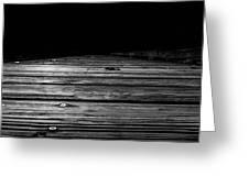 Boardwalk To The Unknown Greeting Card by Doug Camara