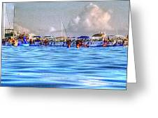 Boat Party Toronto  Greeting Card