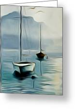 Boat Sails Greeting Card