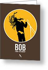 Bob Poster Greeting Card