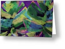 Bold Tropical Dreams- Art By Linda Woods Greeting Card