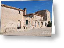 Boquer Valley Building In Majorca Greeting Card