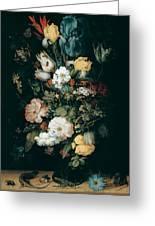 Bouquet Of Flowers  The So Called Liechtenstein Bouquet        Greeting Card