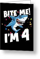 Boys 4 Years Old Happy Birthday Gifts Fun Party Shark Gift Idea