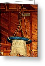 Breeches Buoy Greeting Card