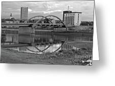 Bridge Of Frankfurt/oder Greeting Card by Silva Wischeropp