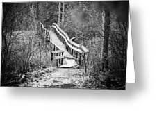 Bridge To Nowhere Greeting Card