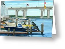 Bridge To Summer II Greeting Card