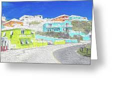 Bright Parish Life Bermuda Greeting Card