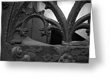 Broken Window Greeting Card by Edward Lee