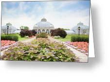 Buffalo Botanic Gardens Conservatory Greeting Card