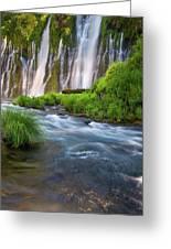 Burney Falls Greeting Card