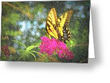 Butterfly Likeness  Greeting Card