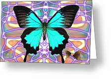 Butterfly Patterns 20 Greeting Card