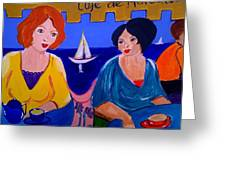 Cafe De Marseille Greeting Card