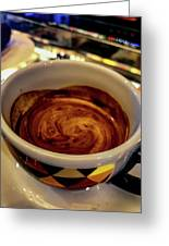 Caffe Doppio Greeting Card