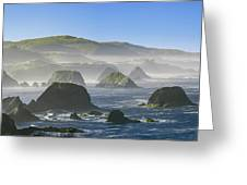 California Ocean Greeting Card