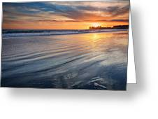 California Sunset V Greeting Card