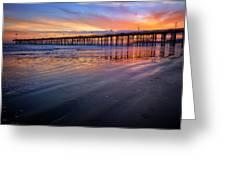 California Sunset Vii Greeting Card