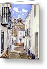 Calle De Cherin Greeting Card