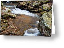 Calming Water Sounds - North Carolina Greeting Card