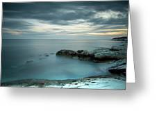 Calmness Of The Sea Greeting Card by Michalakis Ppalis