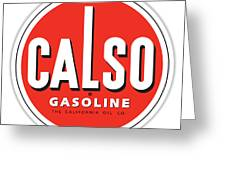 Calso Sign Greeting Card