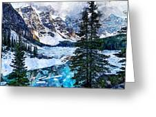 Canada, Alberta - 07 Greeting Card