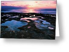 Candy Colored Pools Greeting Card by Jason Roberts