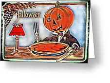 Cannibalism Greeting Card