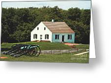 Cannons At Dunker Church Greeting Card