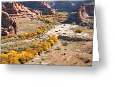 Canyon De Chelley Autumn Greeting Card