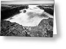Cape Perpetua Greeting Card by Whitney Goodey